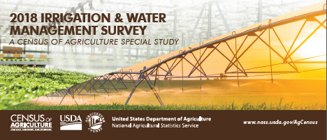 2018 Irrigation & Water Management Survey Rack Card