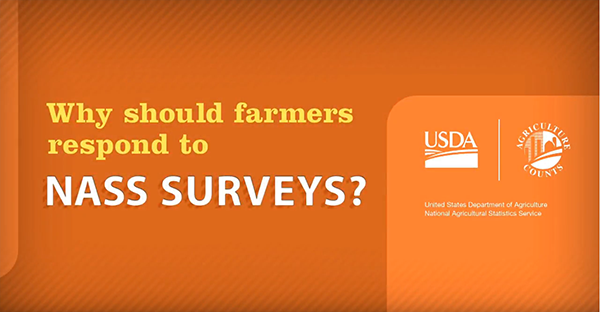 Why should farmers respond to NASS surveys?